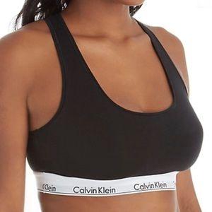 Calvin Klein 1X Plus Size Bralette Black